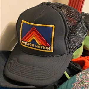 NWOT AVIATOR NATION TRUCKER HAT